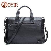 2016New Men Business Genuine Leather Briefcase Fashion Messenger Crossbody Bag Laptop Handbags Shoulder Bag Tote Bag