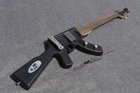 China OEM Firehawk guitar/AK 47 machine gun electric guitar/22 frets/rosewood Fingerboard/Free shipping