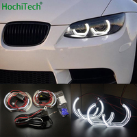 For BMW 3 Series E90 E92 E93 M3 Coupe and cabriolet 2007 2013 Car styling High Quality DTM Style White Crystal LED angel eyes