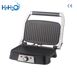 CE approved Adjustable Temperature BBQ electric grill barbecue grill  6/8 Slice Sandwich Maker Contact Panini Press Grill