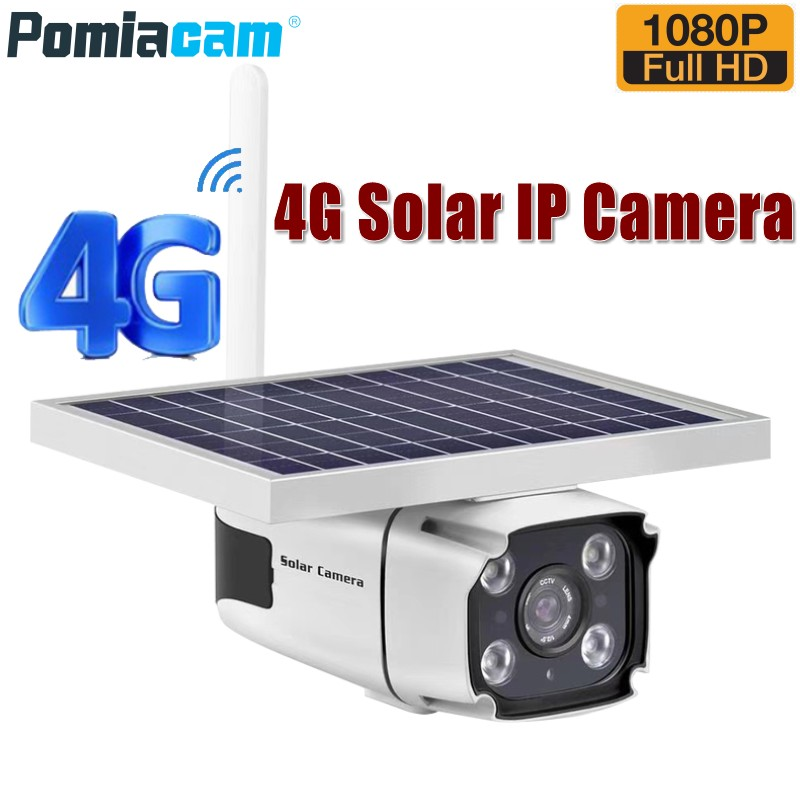 DHL gratuit 2019 plus récent 4G solaire alimenté caméra IP avec batterie intégrée 2.0mp sans fil extérieure sécurité CCTV caméra YN88 N8