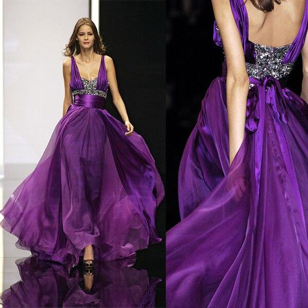 Elie Saab Lavender Dress
