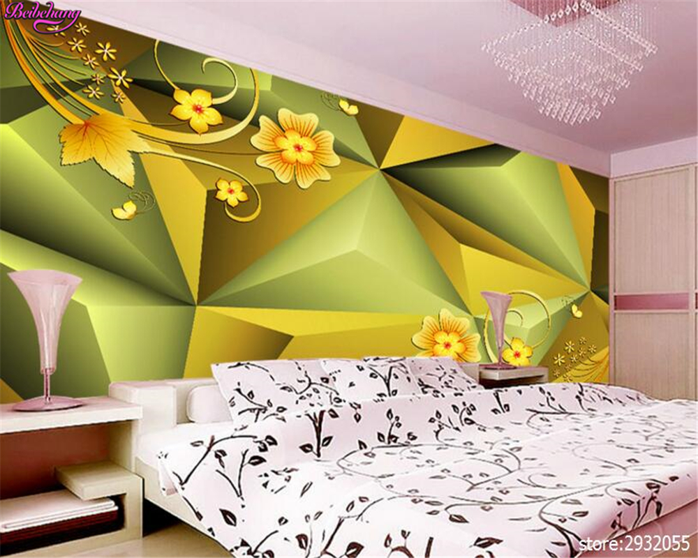 beibehang Fashion European style wallpaper 3D stereoscopic ...