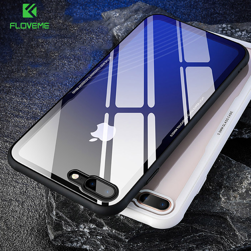 Iphone 6s Plus Case 9h Tempered Glass
