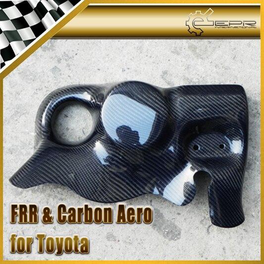Автомобильные аксессуары Стайлинг для Toyota BRZ FT86 ФРС PJDM Стиль углеродного волокна масляный фильтр насоса переменного тока щит Глянцевая Fibre