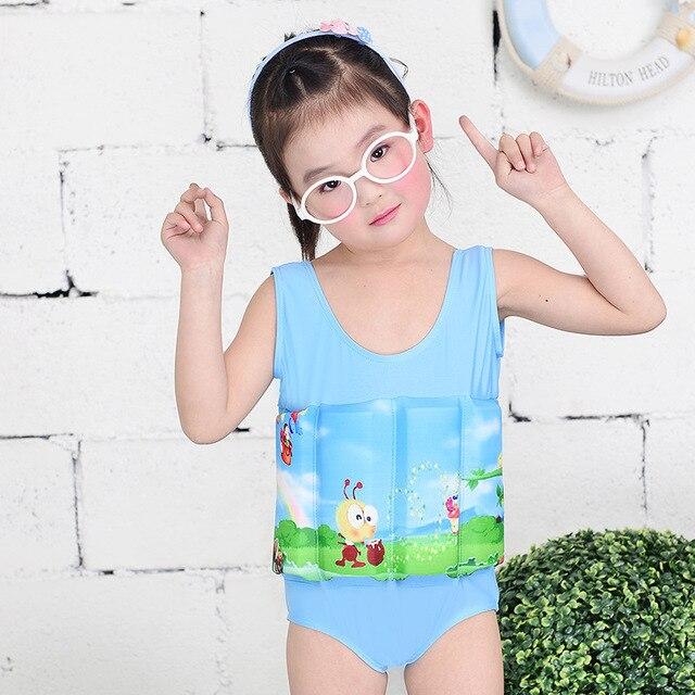 bebe playa toddler baby girls swan swimwear ruffles princess swimsuit biquini bebe print beach Removable Summer Clothes