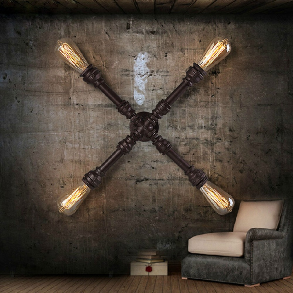 aliexpress : buy vintage industrial water pipe wall light x
