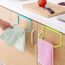 Bathroom Door Tea Towel Rack Bar Hanging Holder Rail Organizer Cabinet Cupboard Hanger Kitchen Accessories 2017ing