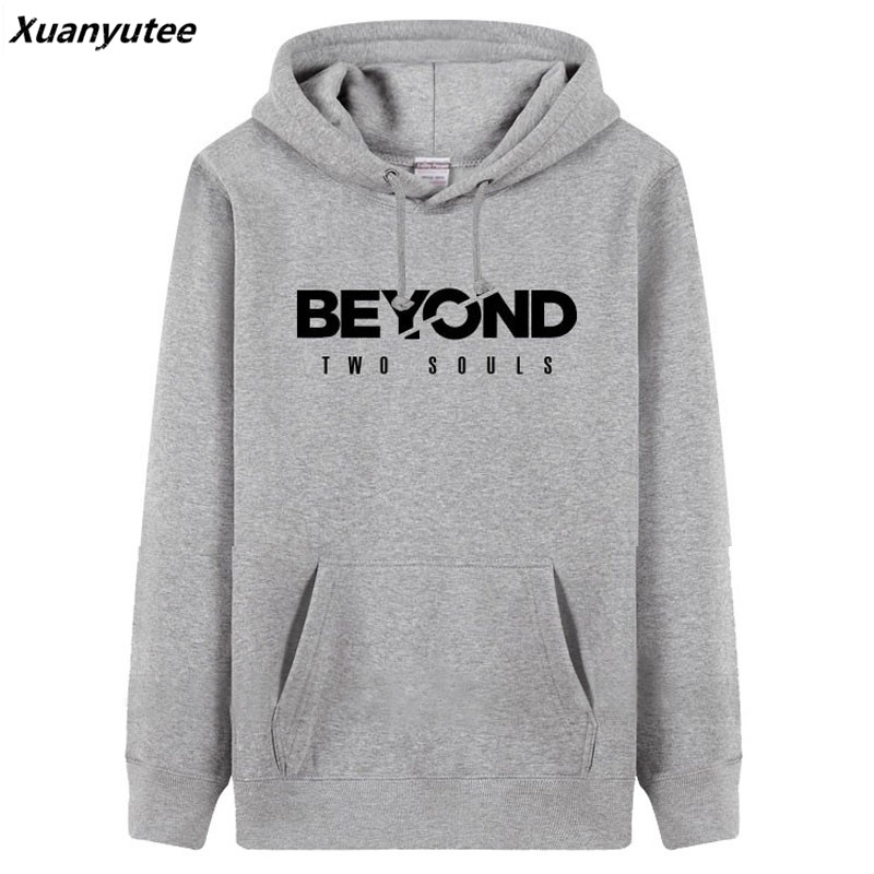 Xuanyutee Beyond Two Souls Game Fans Sweat Homme 5 Colors Pullover Fleece Cotton Casual Fit EU3XL O-neck Full Sleeve Hoodies Men