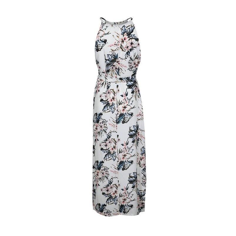 92aa31ae46f Fashion summer dress 2018 beach dress Womens Summer Print Boho Long ...