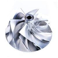 Kinugawa turbo wirnik turbiny z kęsa 46.5/59.94mm 6 + 6 dla SUBARU STI IHI RHF55 RHF5HB VF30 VF34 VF36 w Turboładowarki i części od Samochody i motocykle na