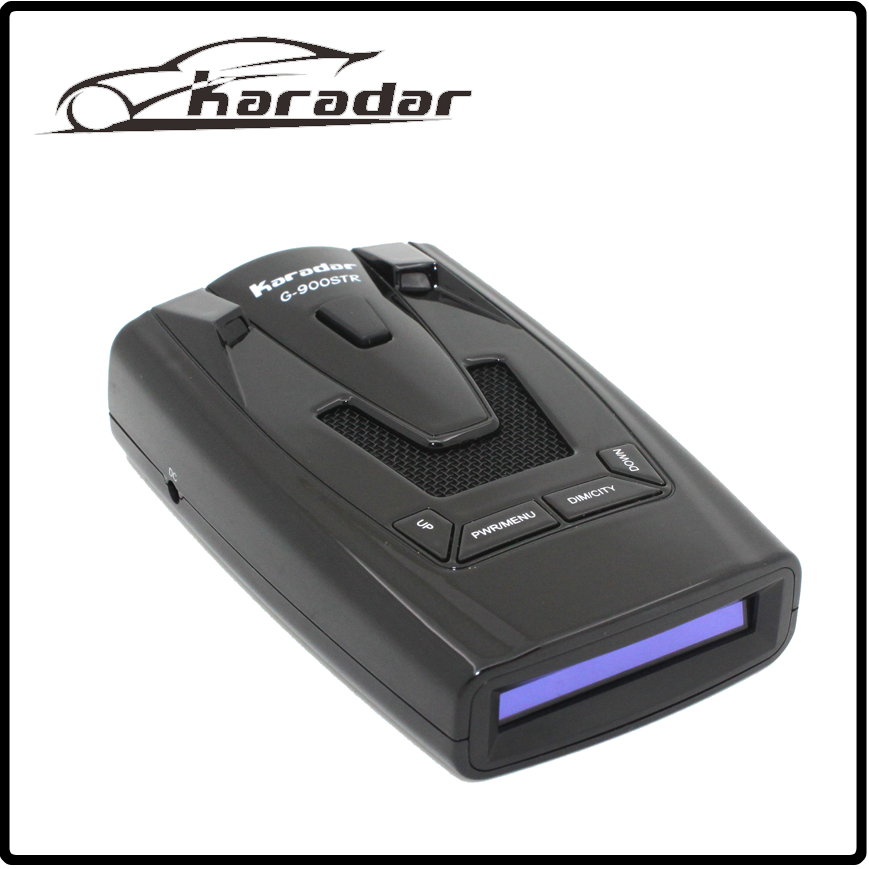 Karadar OLED GPS Radar Detector Car-detector G-900STR Anti Radar Car Radar Detector Laser Car Detector Strelka Russian voice karadar car detector str535 russia 16 brand icon display x k nk ku ka laser strelka anti radar detector best quality