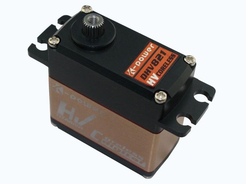 1/10 spéc. De dérive d'échelle (Ultra grande vitesse) Servo k-power DHV821 5.9kg-cm/0.03 s @ 7.4V (prise: JR)
