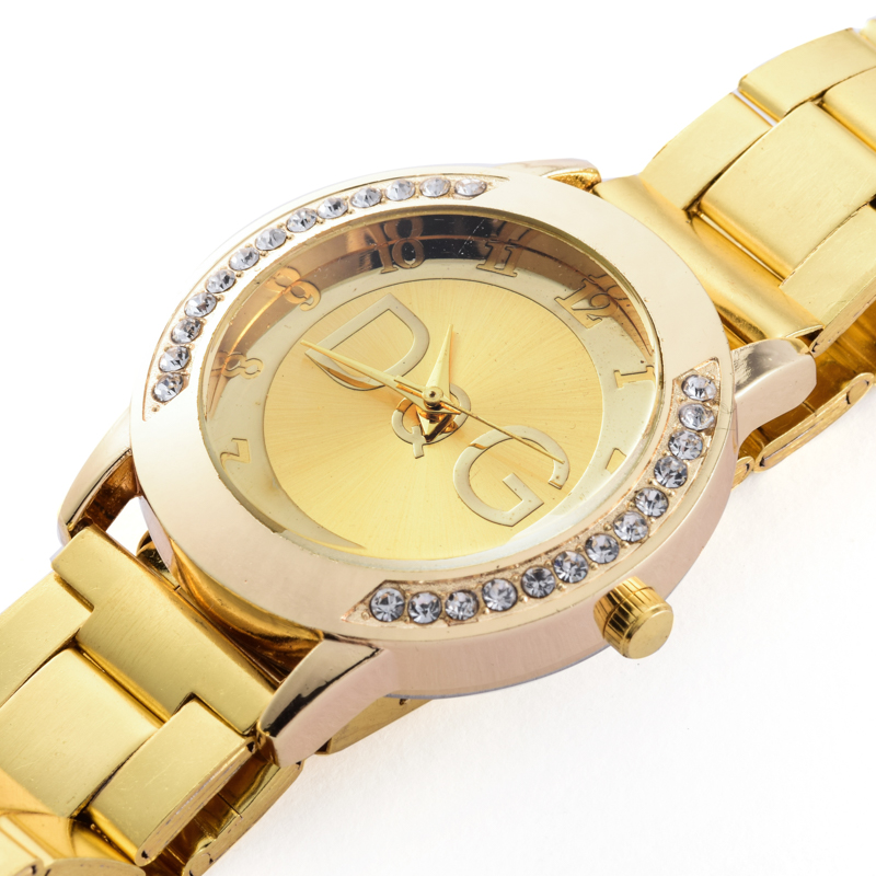 2018 Top Brand Luxury Bear Women Quartz Watch Relogio Stainless Steel Rhinestone Dress Ladies Watches Kobiet Zegarka Reloj Mujer in Quartz Watches from Watches