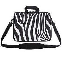 "15"" 15.4"" 15.6"" Shoulder Strap Carry Laptop Sleeve Case Bag Cover Pouch for PC Netbook Laptop Zipper Fashion"