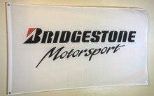 Bridgestone Motorsport Racing Indoor Outdoor Banner High Quality Flag Custom flag Drop Shipping
