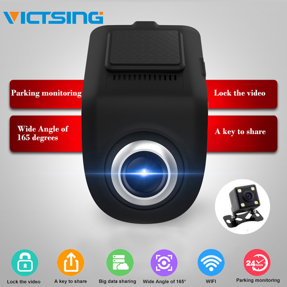 VicTsing 1080P Two-way Car WiFi ADAS Recorder Navigation FHD Car DVR Camera Video Recorder G-sensor USB Driving Recorder AndroidVicTsing 1080P Two-way Car WiFi ADAS Recorder Navigation FHD Car DVR Camera Video Recorder G-sensor USB Driving Recorder Android