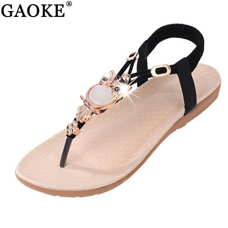 Women sandals 2018 Comfort Sandals Women Summer Classic Rhinestone Fashion Flat Plus Size Sandals Size 36-42 konkord classic comfort 140x195x18