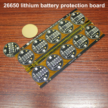 1pcs 26650 lithium battery 3.7V dual MOS protection board assembly DIY 4.2V current 4A