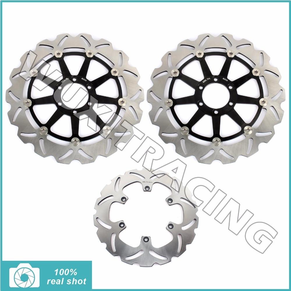 Full Set New Front Rear Brake Discs Rotors for BENELLI TNT RS / TITANIUM 1130 2004 2005 2006 2007 TORNADO 1130 06-2010 2008 2009