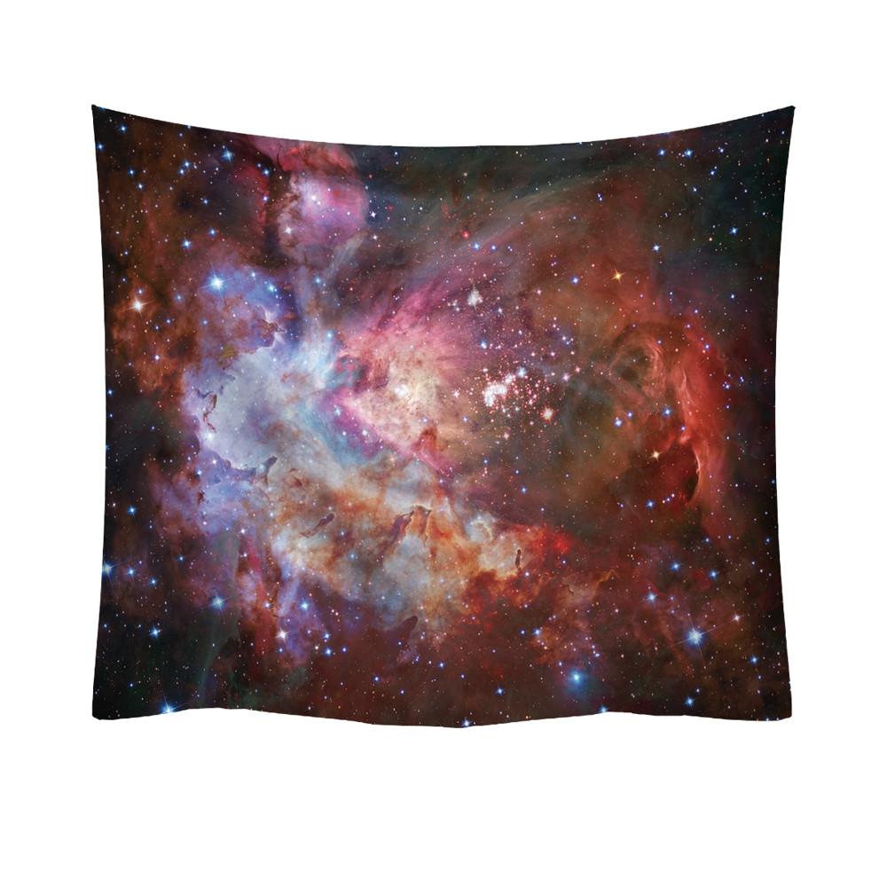 Ultra-Nebula Multi-Colored Starfield Tapestry / Bed Cover / Ceiling Hanging + AAEONIX Energy Balancing Kit