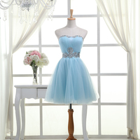 2013 Sisters Dress Bridesmaid Evening Dress Tube Top Short Design