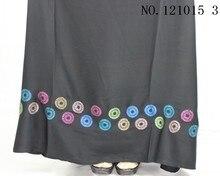 Dress abaya Colorful  turkey clothing black