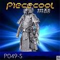 DIY Piececool 3D Головоломки Металлические Игрушки, образовательные Модели Brinquedos, воины Броня P049-S Orignal Дизайн 3D Головоломки, детские Игрушки