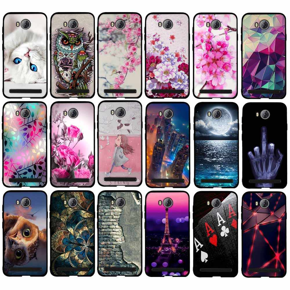 "Case for Huawei Y3II Case Cover for Huawei Y3 2 Cover 3D Silicon Case for Huawei Y3 II 4.5"" Y3II-U22/ LUA-U22/Lua-L21 Phone Case"