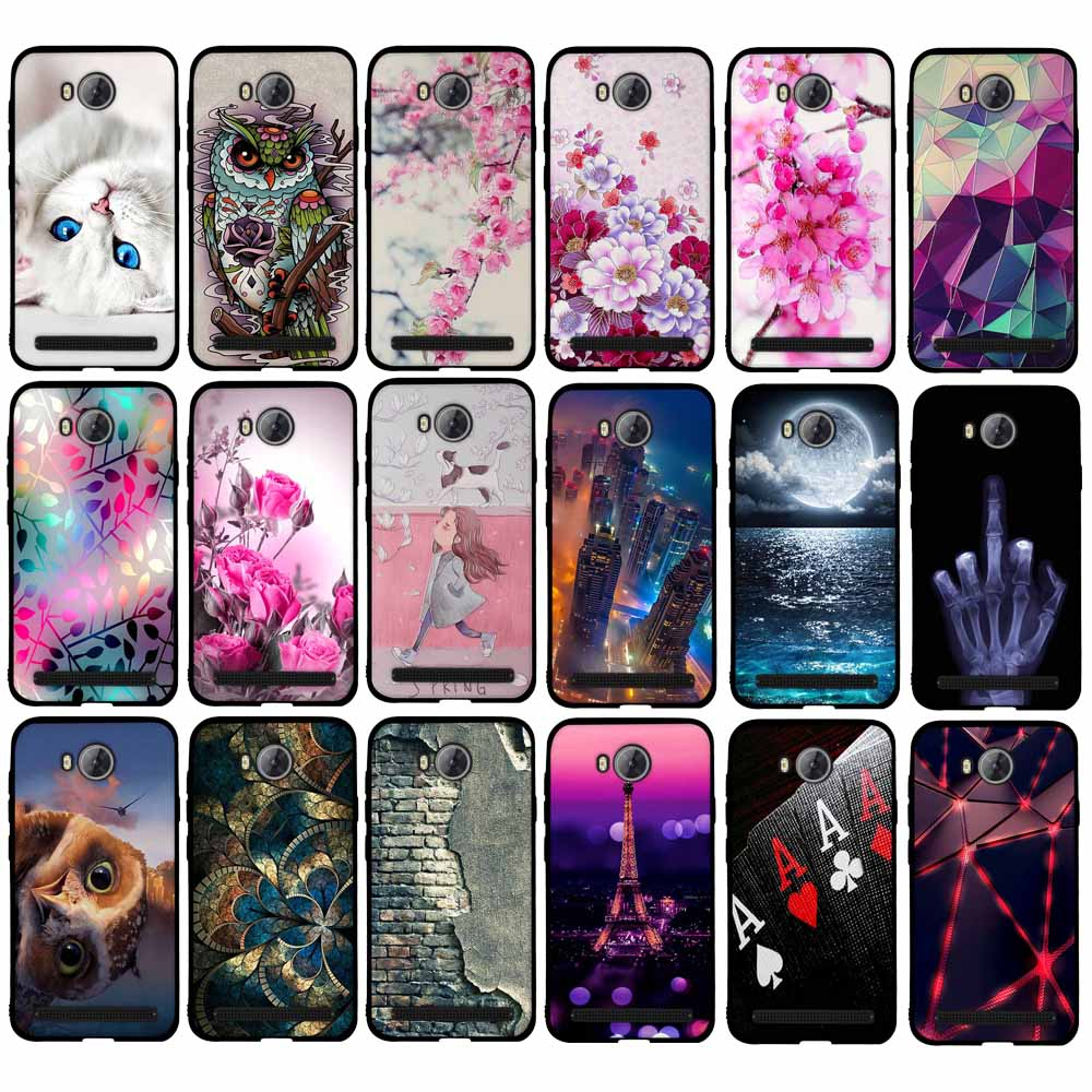 Case For Huawei Y3II Case Cover For Huawei Y3 2 Cover 3D Silicon Case For Huawei Y3 II 4.5