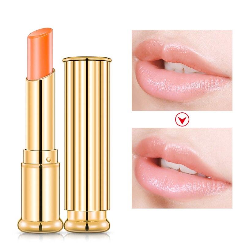 цена на Daralis Moisturizing Lip Balm Temperature Color Changed Lip Balm Highly Nourishing Pink Color Moisturizer Lipstick Beauty