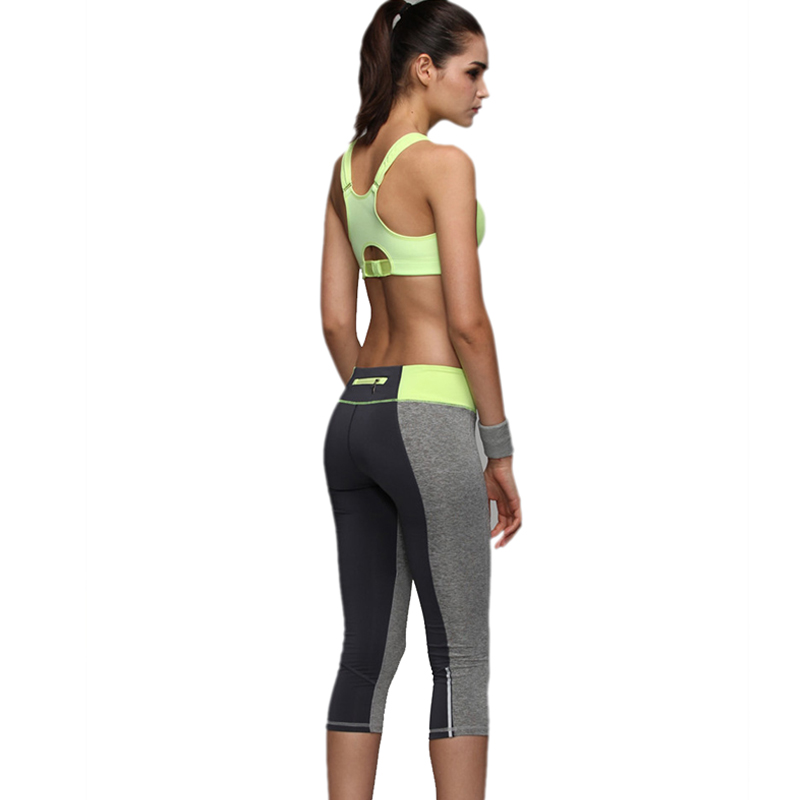 983636f2eb SRIMXS Women Yoga Pants Sport Patchwork Zip Push Up Fitness Sports Pants  Running Tights Elastic Gym Pants Sports Clothing on Aliexpress.com    Alibaba Group