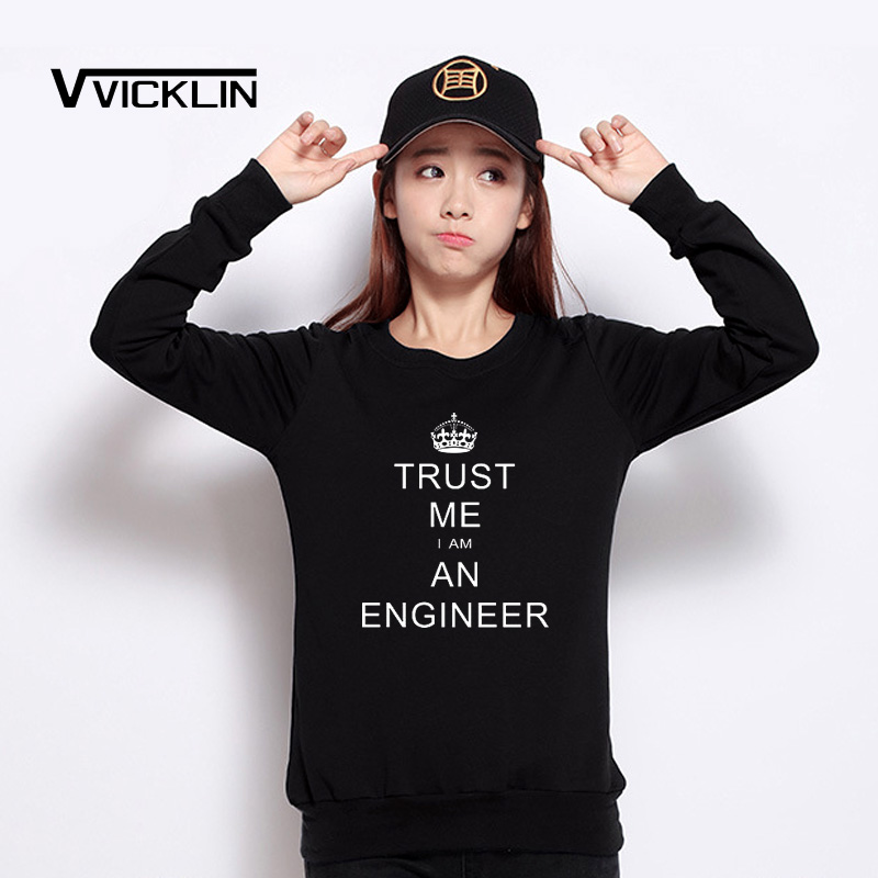 1735c5f9c ... Sweatshirts Crown KEEP CALM TRUST ME I AM AN ENGINEER Sweatshirts Women  Tops Free Shipping Size S XXXL-in Hoodies & Sweatshirts from Women's  Clothing on ...