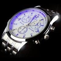 YAZOLE Casual Stainless Steel Watch Men Simple Waterproof Luxury Brand Quartz Watches Relogio Masculino Dress Male