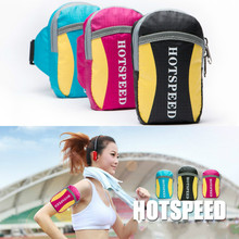 Portable Running Bag Arm Wrist Hand Sport Band Mobile Phone Case Wallet Pouch Small Sports Bag