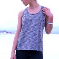 Marka Sıcak Yaz 2017 Sporting Seksi Tank Top Kadınlar Casual T Gömlek Spor Aktif Giyim Kadın Egzersiz Giyim S M L