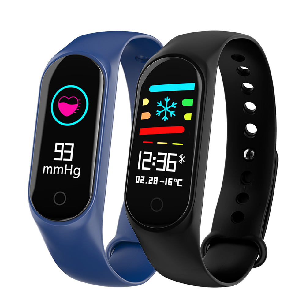 OGEDA M3S Smart Bracelet Color-screen IP67 Fitness Tracker blood pressure Heart Rate Monitor Smart band For Android IOS phoneOGEDA M3S Smart Bracelet Color-screen IP67 Fitness Tracker blood pressure Heart Rate Monitor Smart band For Android IOS phone