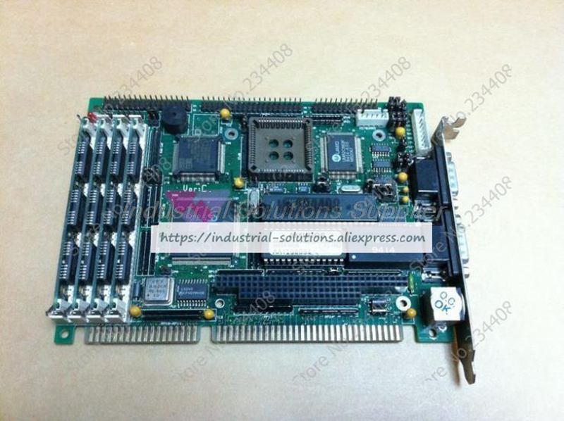Motherboard ASC386SX Long CPU Card Industrial Motherboard IPC Board 100% tested perfect quality hpu6900pic 433 ib 2u ipc card 02027 12030 80 100% test good quality