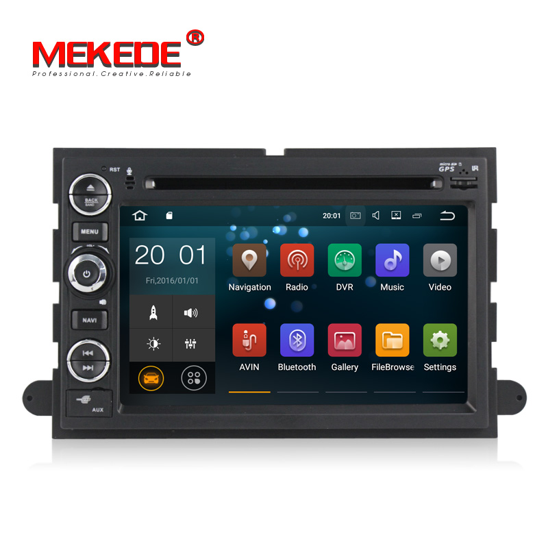 Android8.1 Car stereo head unit navigation GPS NAVI DVD for Ford F150 usion Explorer F650 F150 F450 F350 Edge Expedition <font><b>Mustang</b></font> image