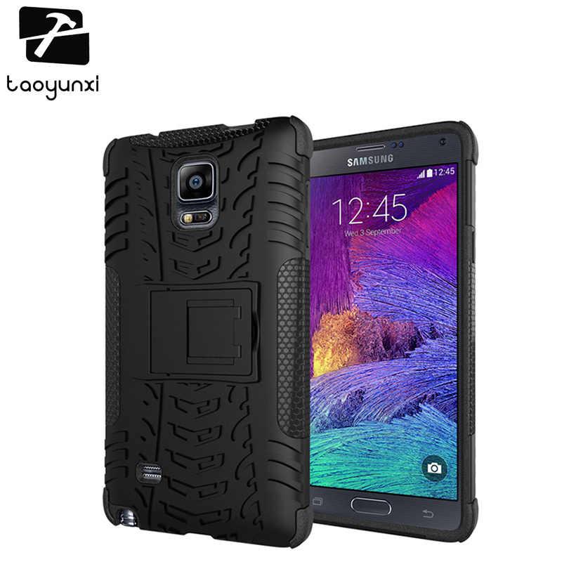 TAOYUNXI telefonu samsung kılıfı Galaxy not 4 IV S8 artı S8 + N9100 Note4 N910 G9500 SAM-S8 G950F G9550 SM-G955 zırh çanta kapakları