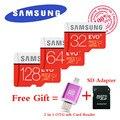 Samsung EVO PLUS 80MB/s Memory card 32GB class10 flash tf card micro sd card 64GB free 2 in 1 OTG Micro usb Card Reader