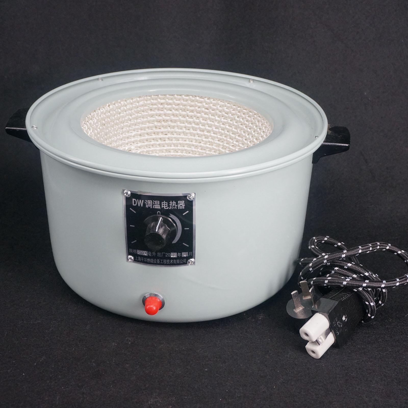 2000ml 500W temperatura ajustable equipo electrónico de laboratorio manto de calefacción, termostato para uso en laboratorio PANSYSEN, pulseras de compromiso de boda con encanto para mujer, 3MM, pulsera de joyería fina con diamantes de moissanita sólida plata 925 laboratorio