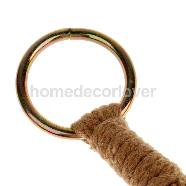 4 Leg Macrame Cotton Rope Plant Holders Flower Pot Hanger Basket Garden Home Decoration 90cm