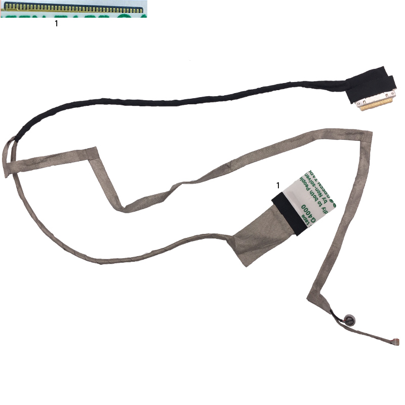 New LCD LED Video Flex Cable For ASUS K55 K55A K55V X55U X55A X55C X55VD A55 R500V P/N DD0XJ3LC000 цена 2017
