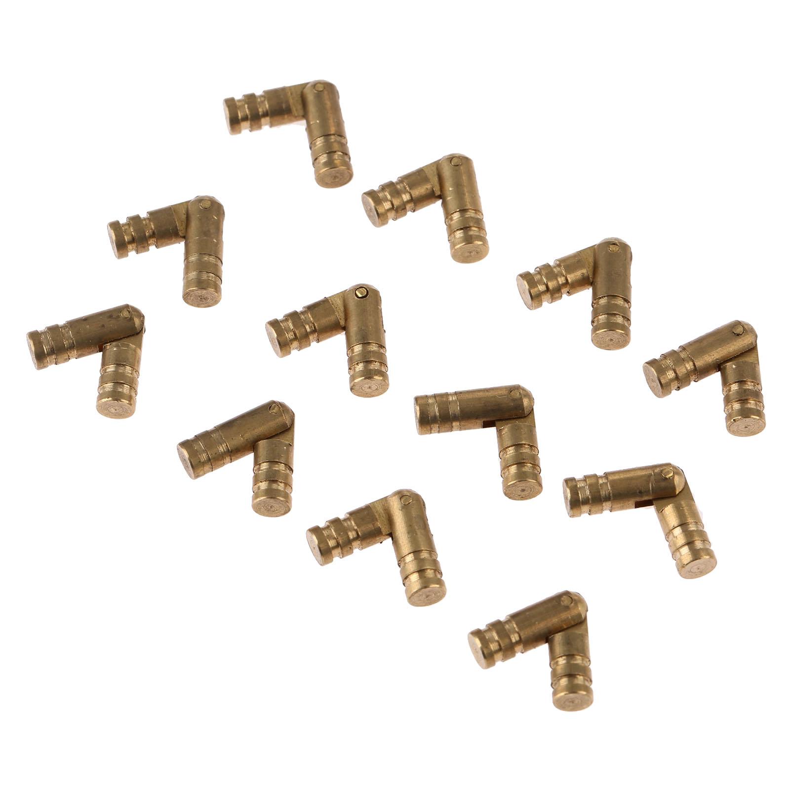 unids puro cobre latn barril bisagra joyero gabinete oculto oculto invisible barril bisagra muebles hardware