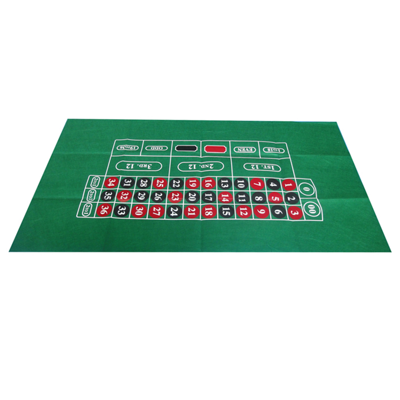 180*90cm Russian Roulette Table Cloth   Poker Table Cloth   Roulette Table  Mat   Non Woven Cloth 500g Good Quality
