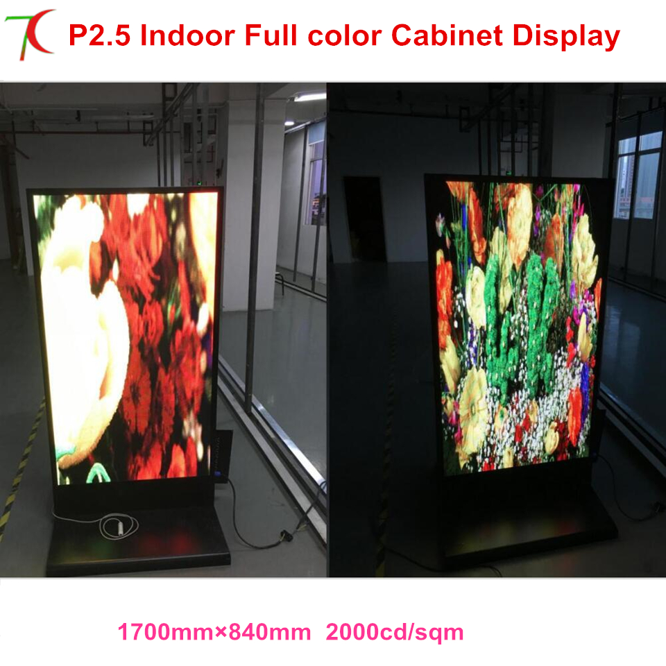 SMD 2121 Indoor Full Color Customized Advertisement Machine Led Poster Display