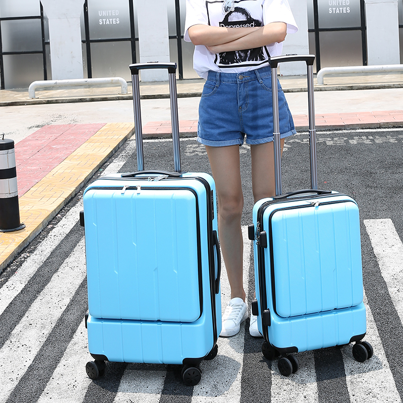 2024inch Universal wheels Luggage, ABS Mute Rolling Travel bag, Password Lock Trolley Suitcase, Colorful Hand pull Box durable travel rolling luggage 22 inch business suitcase boarding trolley bags password lock vintage spinner wheels box 4002