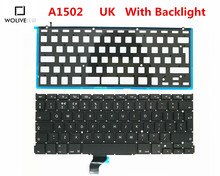 Genuine New A1502 UK Keyboard For Macbook Pro Retina 13″ 2012-2015 Year With Backlight Language version UK Replacement