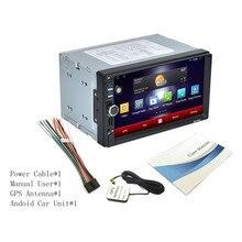 Professional Car MP3 Player 7 Polegada 16G HD 1024*600 Tela Capacitiva bluetooth 7 Colorido Função de Luz Android WI-FI quente